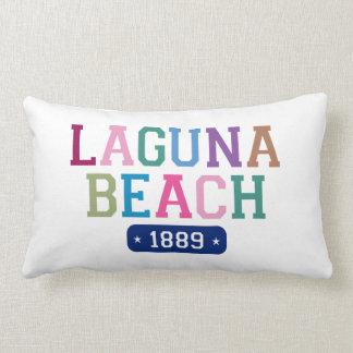 Laguna Beach 1889 Throw Pillow