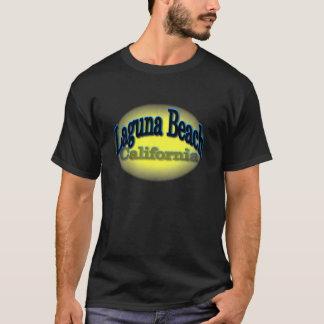 Laguna Beach Blue/yellow design T-Shirt