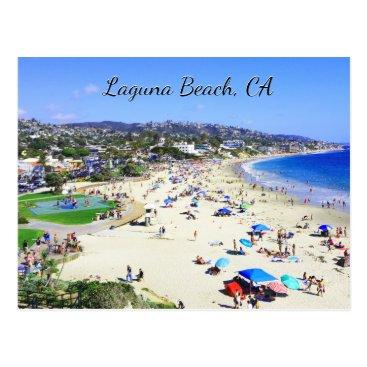 Beach Themed Laguna Beach, CA Postcard