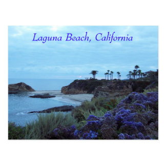 Laguna Beach, California Coastline Postcard