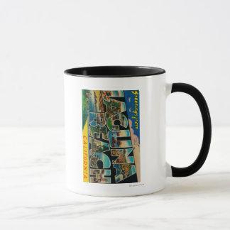 Laguna Beach, California - Large Letter Scenes Mug