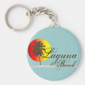 Laguna Beach California Llavero Redondo Tipo Pin