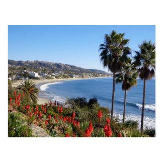 laguna beach california postcard