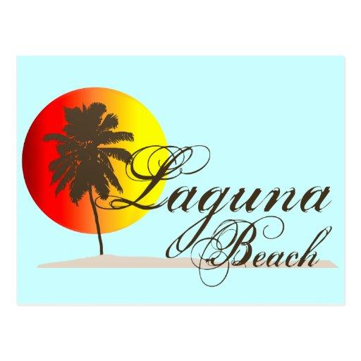 Laguna Beach California Post Card