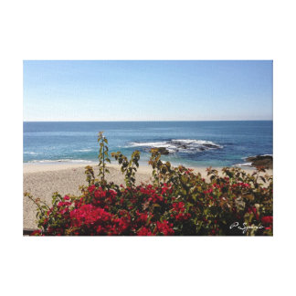 Laguna Beach Canvas Stretched Canvas Print