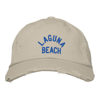 LAGUNA  BEACH Cap Embroidered Baseball Cap