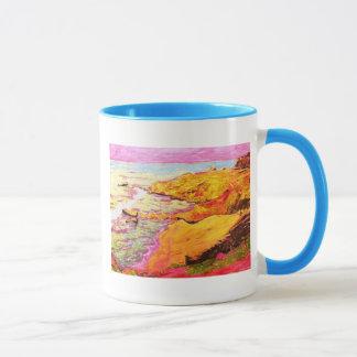laguna beach colorful cove mug