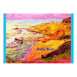 laguna beach cove large business card