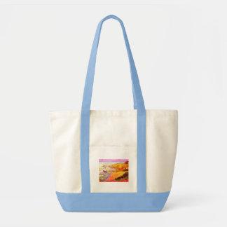 laguna beach cove tote bag