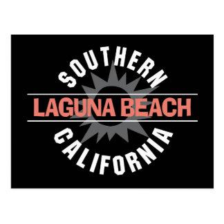 Laguna Beach de California meridional Tarjeta Postal