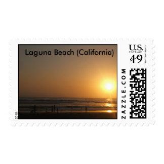 Laguna Beach del sello (California)