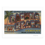 Laguna Beach, Florida - Large Letter Scenes Postcard