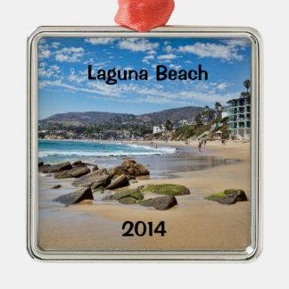 Laguna Beach Holiday Metal Ornament