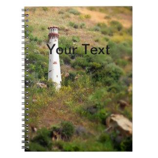 Laguna Beach Light Tower Notebook