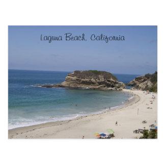 Laguna Beach, postal de California