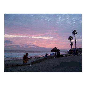 Beach Themed laguna beach postcard