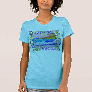 laguna beach purple paint splash shirt