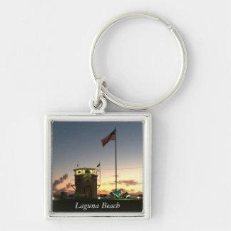 Laguna Beach sunset keychain