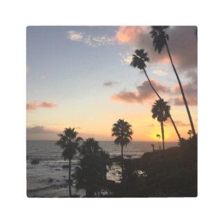 Laguna Beach Sunset Metal Print