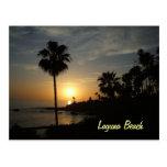 Laguna Beach sunset postcard