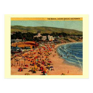 Laguna Beach, vintage de California Postal