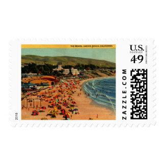 Laguna Beach, vintage de California Timbres Postales