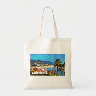 Laguna Beach Vintage Travel Poster Style Tote Bag