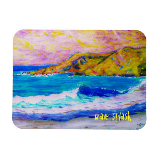 laguna beach wave splash magnet