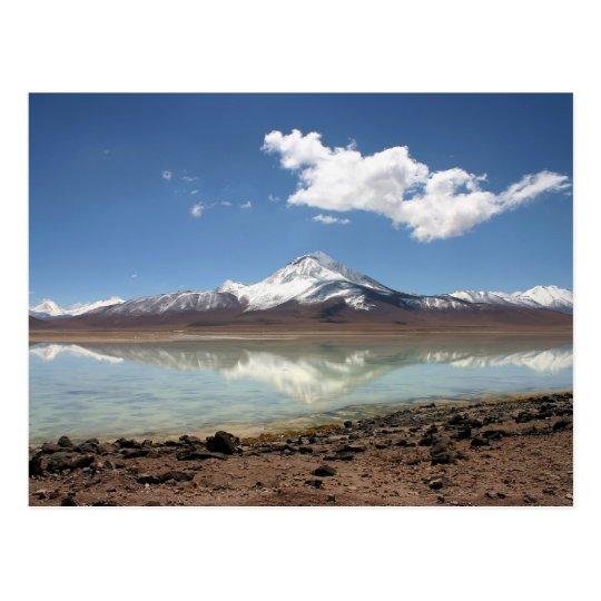 laguna blanca (bolivia) postcard