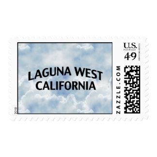 Laguna California del oeste Franqueo