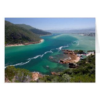 Laguna de Knysna, ruta del jardín, Western Cape Tarjeta De Felicitación