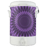 Laguna de la lila enfriador de bebida igloo