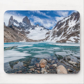 Laguna De Los Tres And Mount Fitzroy Mouse Pad