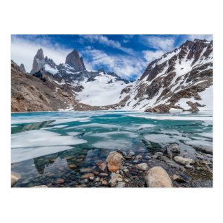 Laguna De Los Tres And Mount Fitzroy Postcard
