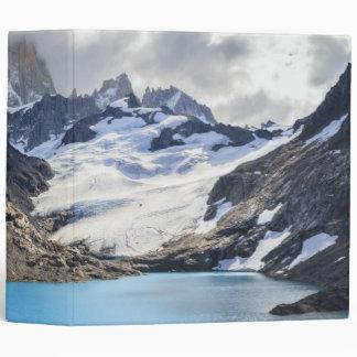Laguna De Los Tres,  Los Glaciares National Park 3 Ring Binder