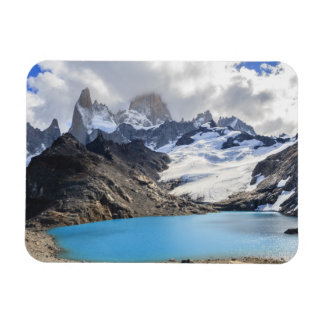 Laguna De Los Tres,  Los Glaciares National Park Rectangular Photo Magnet
