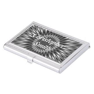 Laguna de plata cajas de tarjetas de presentación