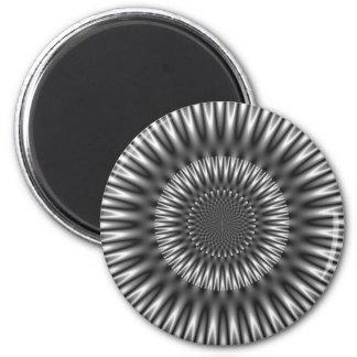 Laguna de plata imán redondo 5 cm