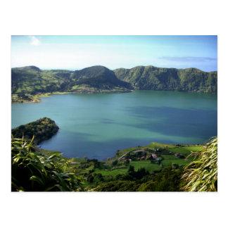 Laguna de Sete Cidades en S. Miguel, Azores Tarjetas Postales