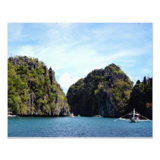 """Laguna grande en el EL Nido Palawan 20"""""""" impresión Arte Fotografico"""
