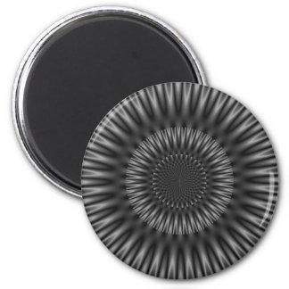 Laguna gris imán redondo 5 cm