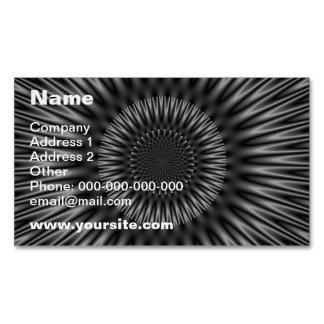 Laguna gris tarjetas de visita magnéticas (paquete de 25)