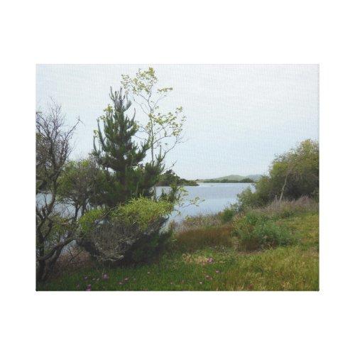 Laguna Lake, San Luis Obispo, after Rain Canvas Print