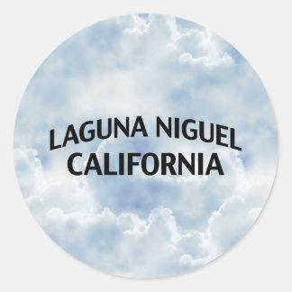 Laguna Niguel California Pegatina Redonda