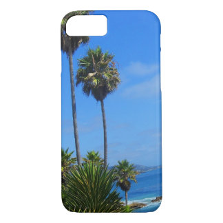 Laguna Palm Trees and Ocean Bliss iPhone 8/7 Case