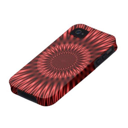 Laguna roja iPhone 4 funda