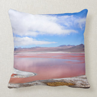 Laguna roja, Laguna Colorada, almohada de tiro de
