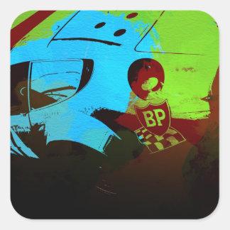 Laguna Seca Historic Racing Stickers