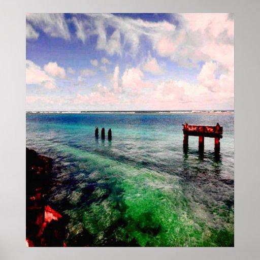 Laguna serena póster