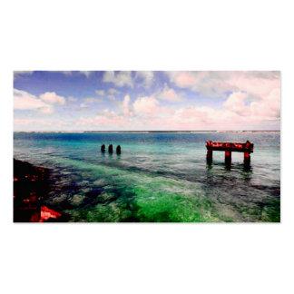 Laguna serena tarjeta de visita
